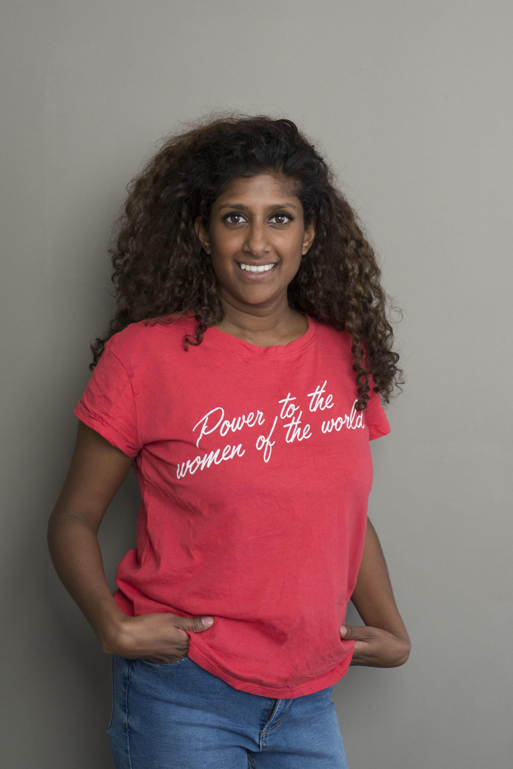 Power to the women of the world - Sandra Doevendans